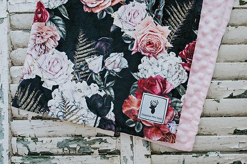 Accessoires | Accessories | Doudou floral noire