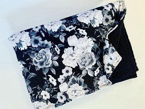 Accessoires | Accessories | Douillette rembourée floral gris et noir