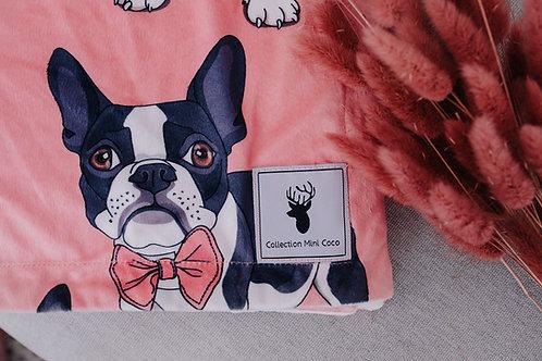 Accessoires | Accessories | Doudou/Blanket | Doudou minky chien boston
