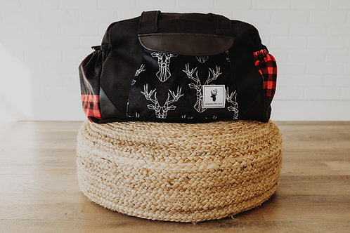 Sac à couches / bandoulière   Shoulder strap / Diaper bag   Carreaux