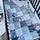 Thumbnail: Literie | Bedding | Ensemble courtepointe floral grise