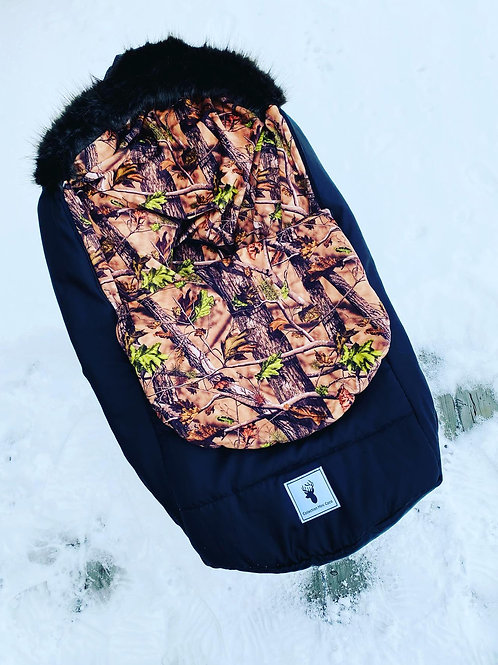 Housse Hiver | winter slipcover |camo chasseur