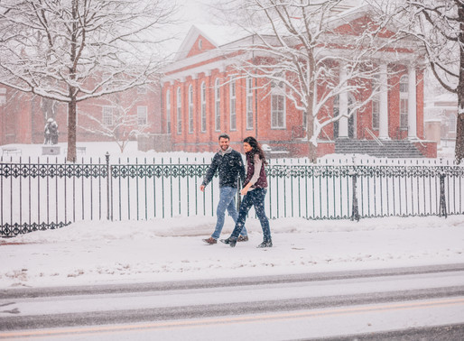 Snowy Engagement