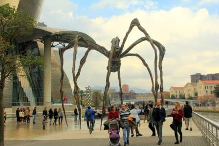 The Guggenheim Museum, Bilbao.
