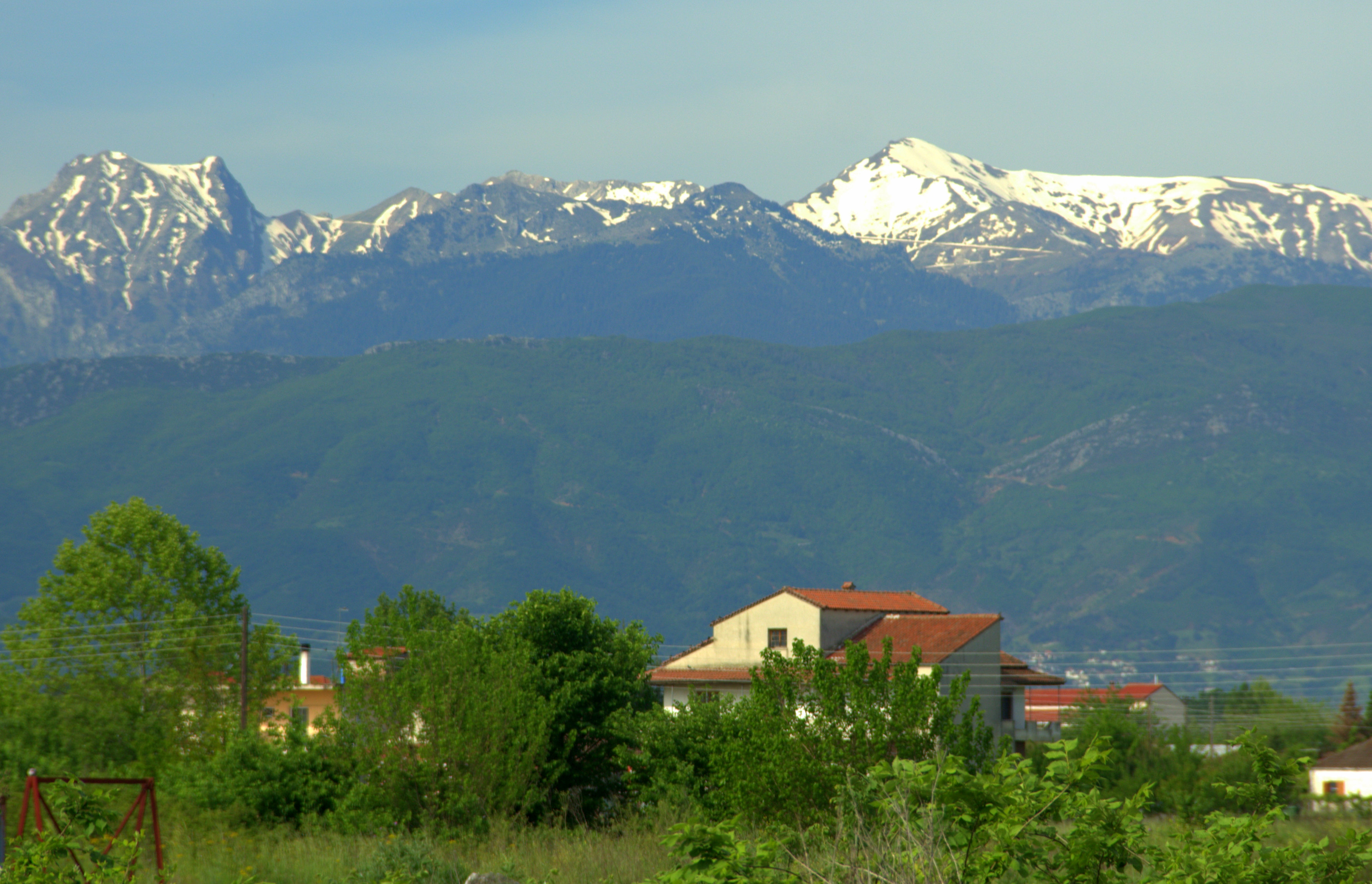Mountains, Greece