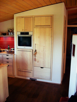 Küche aus Ahorn