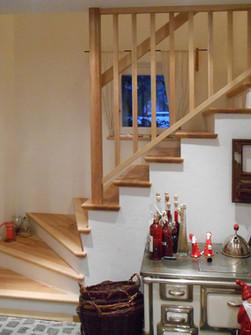 Treppe in Olivesche