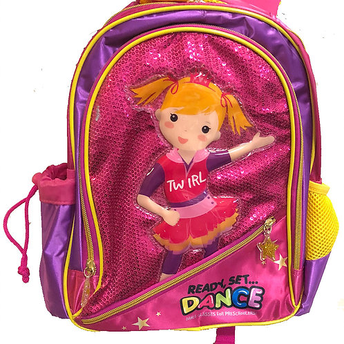 Ready Set Dance Backpack