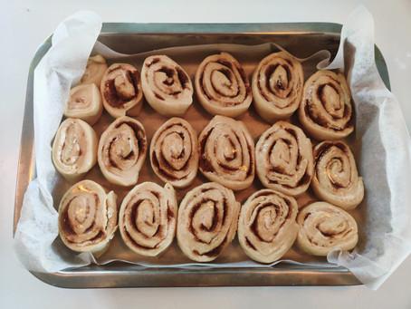 #isobaking - Vegan Cinnamon Rolls