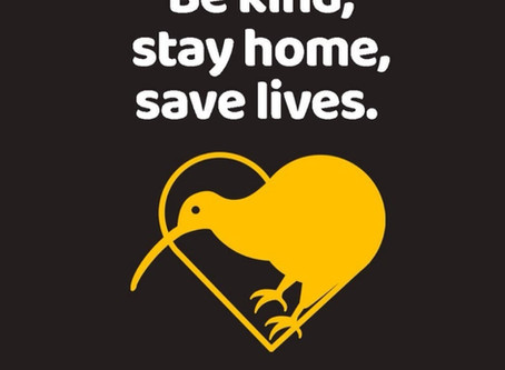 Be kind, stay home, save lives!