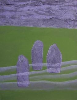 Les trois menhirs