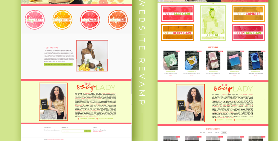 Website Revamp (Wix, Shopify or WordPress)