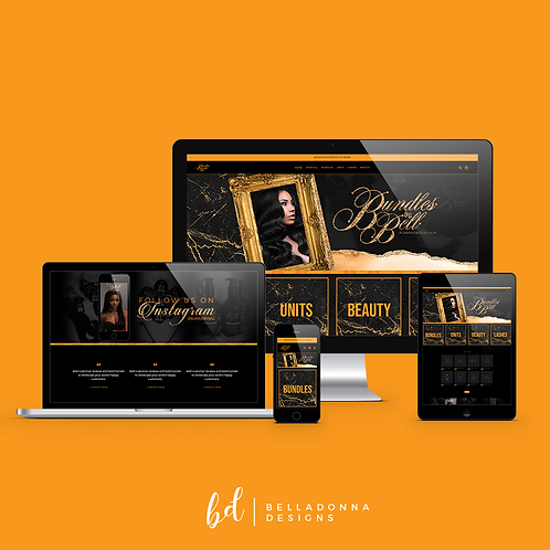 One Page Website (Wix)