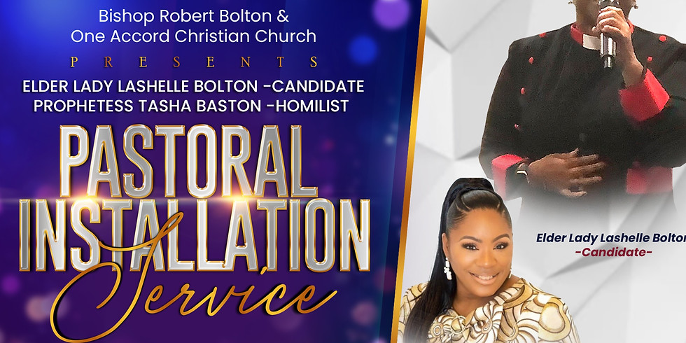 Pastoral Elevation Lady Elder Lashelle Bolton