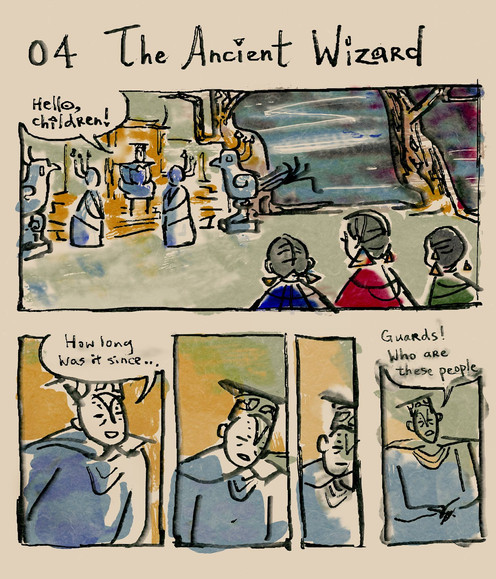 The Ancient Wizard