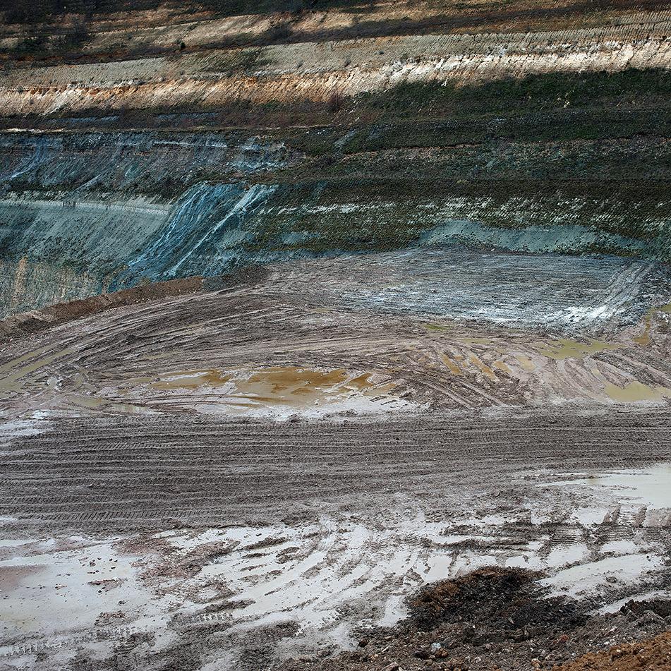 traces dans la boue