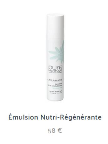 EMULSION NUTRI-REGENERANTE