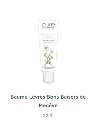 BONS BAISERS DE MEGEVE