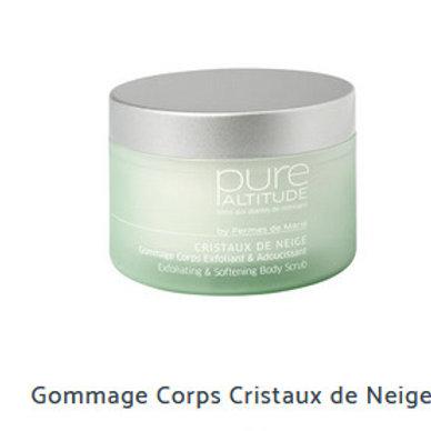GOMMAGE CORPS CRISTAUX DE NEIGE 200ml