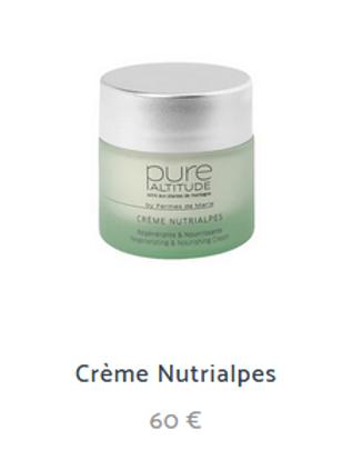 CREME NUTRIALPS 50ml