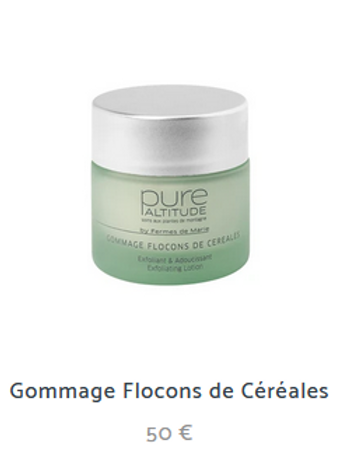 GOMMAGE FLOCONS DE CEREALES 50ml