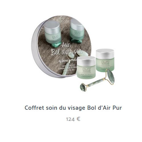 COFFRET BOL D'AIR PUR 124€ (au lieu de 142€)