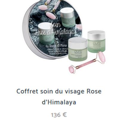 COFFRET ROSE D'HIMALAYA 136€ (au lieu de 158€)