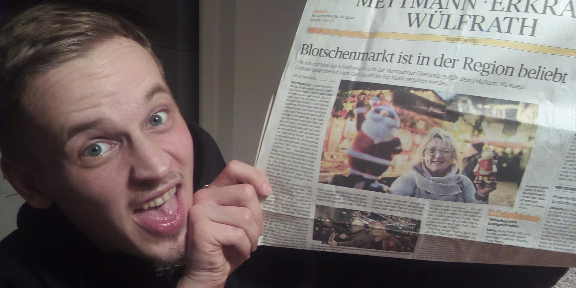 Jeah! Erste Presse!