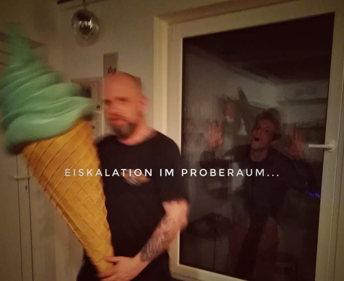 Proberaum Eiskallation