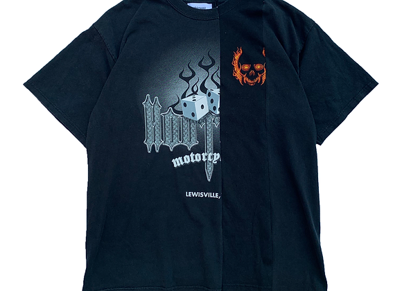 """Artisanal """"Hooters Motorcycles/Chevy"""" T-Shirt"""