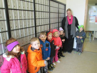 Preschool Post Office Visit