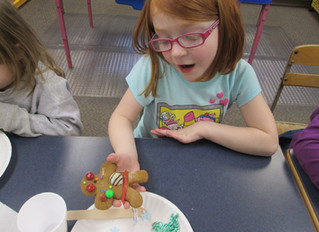 Preschool Gingerbread Cookie Creations