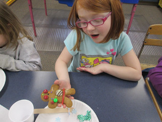 Preschool Gingerbread Cookie Creations