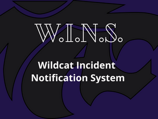 W.I.N.S. - Wildcat Incident Notification System