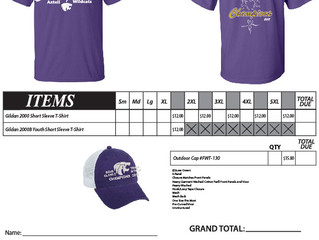 State Track Championship Shirt Orders