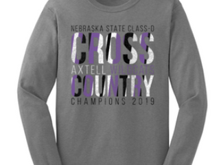 2019 State Cross Country Gear