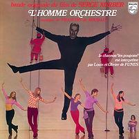 Homme orchestre 33t recto