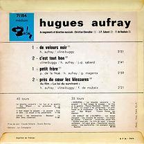Hugues Aufray verso