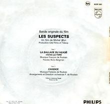Les suspects verso