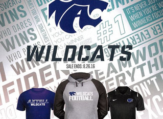 Axtell Wildcat Football Clothing and Order Form