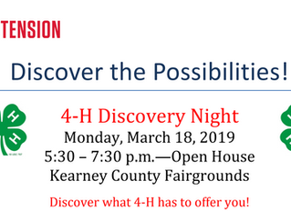 4-H Discovery Night