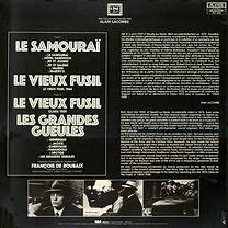 Le Samourai_Vieux Fusil_Grandes Gueules 33T verso