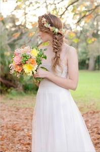 Una novia original de pies a cabeza