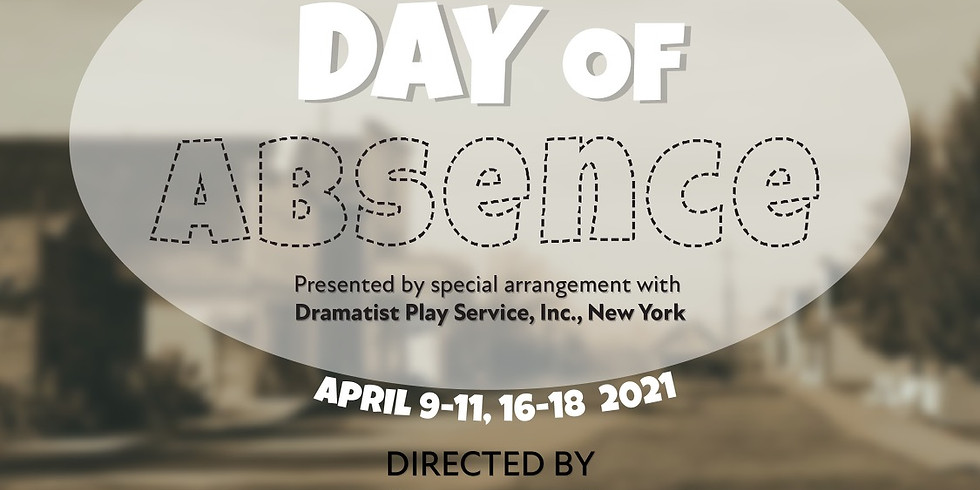 Day of Absence by Douglas Turner Ward