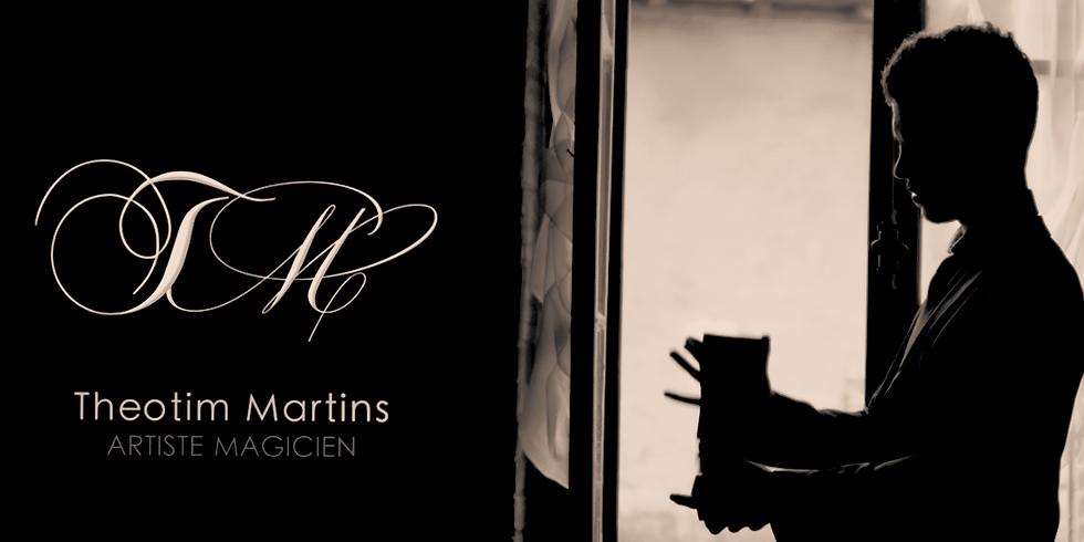 Theotim Martins, magicien mentaliste