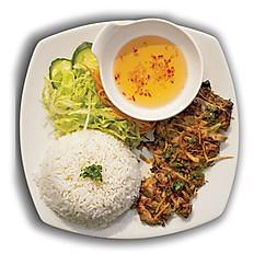 BBQ Pork Fillet with Rice