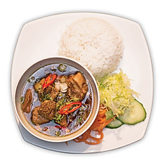 Black Pepper Pork Belly Stew