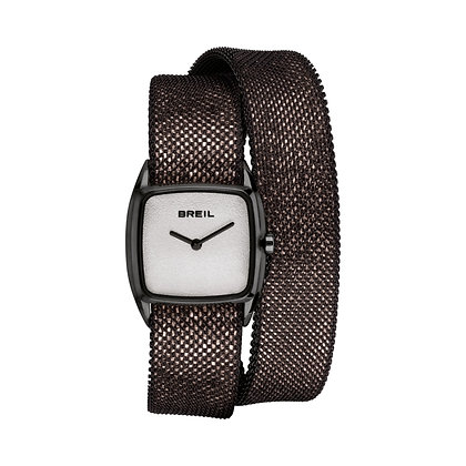 BREIL NEW SNAKE WATCH SOLO TEMPO LADY 24×21 MM  TW1855