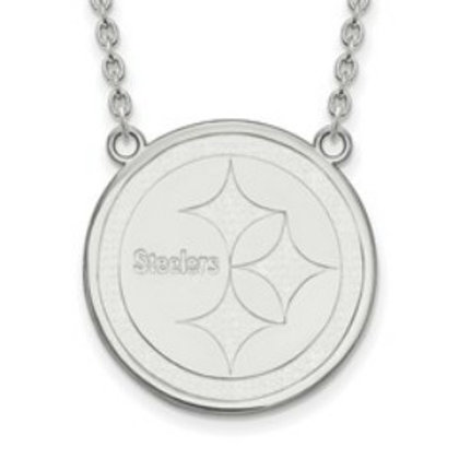 NFL© Pittsburgh Steelers - Sterling Silver Necklace