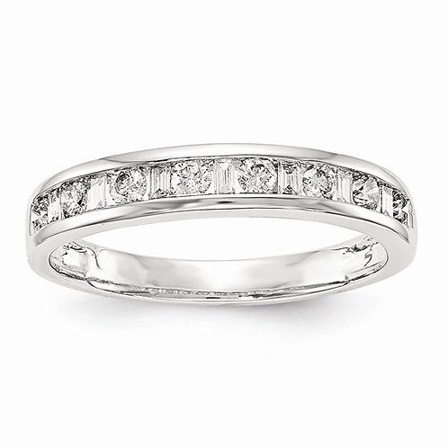 14kt Diamond Band, 0.35ct